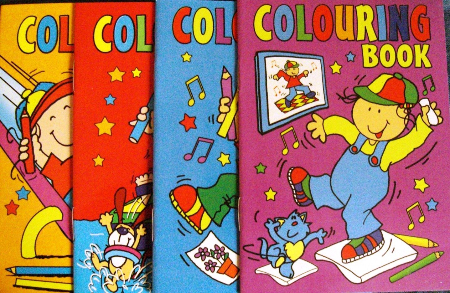 Colouring Book for Kids – How to teach kids to colour and learn ...