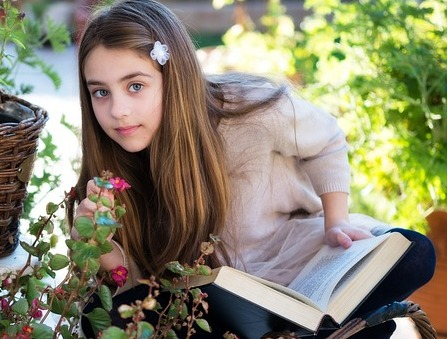 develop reading habit in son, daughter